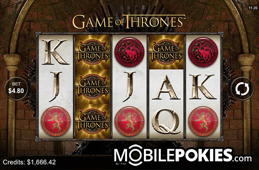 Game of Thrones Mobile Pokie