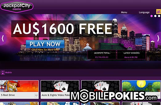 Jackpot City Casino Review 2018 - UP TO €1600 FREE