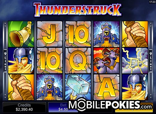 Thunderstruck Pokie Preview